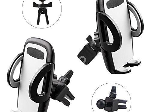 auto halterung avolare 2 pack auto handyhalterung halter l ftung phone halter 360 grad drehung. Black Bedroom Furniture Sets. Home Design Ideas