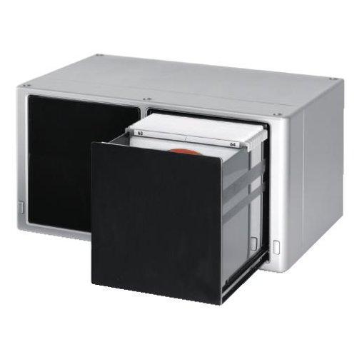 hama cd box magic touch 120 silber osnetni. Black Bedroom Furniture Sets. Home Design Ideas