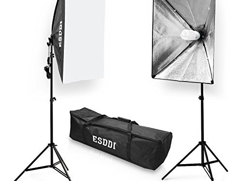 softbox dauerlicht studioleuchte esddi softboxen 2er set studio lights fotostudio licht. Black Bedroom Furniture Sets. Home Design Ideas
