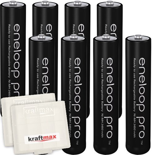 4x micro akku batterien in kraftmax akkubox kraftmax 4er. Black Bedroom Furniture Sets. Home Design Ideas