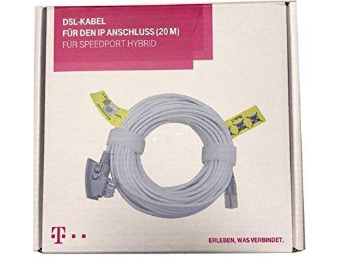 20m Original Telekom DSL Kabel | VDSL Kabel für IP Anschluss ...