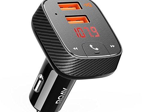 anker roav bluetooth fm transmitter mit auto finder auto. Black Bedroom Furniture Sets. Home Design Ideas