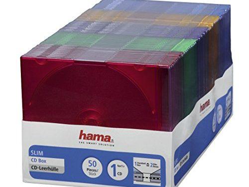 cd rom slim box platzsparend auch f r dvd und blu ray geeignet f nf verschiedene farben 50er. Black Bedroom Furniture Sets. Home Design Ideas
