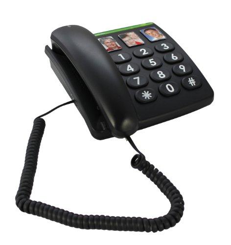 modular stecker 6p4c 6m schwarz hama telefonkabel tae f. Black Bedroom Furniture Sets. Home Design Ideas
