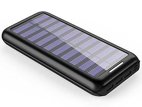 externer akku plochy 24000mah solar powerbank solar. Black Bedroom Furniture Sets. Home Design Ideas