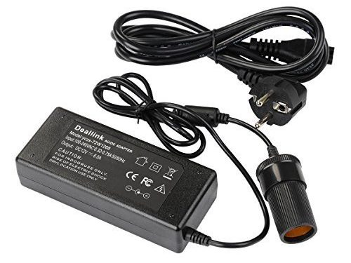 240 volt auf 12 volt 6 ampere 72 watt k hlbox handy ladeger t ac dc adapt schwarz. Black Bedroom Furniture Sets. Home Design Ideas