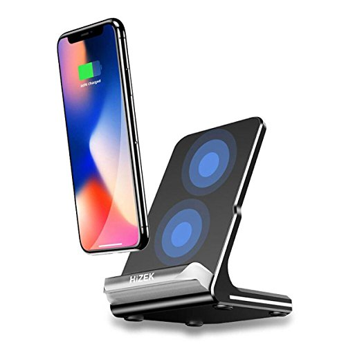 wireless charger yootech 7 5w wireless ladestation f r. Black Bedroom Furniture Sets. Home Design Ideas