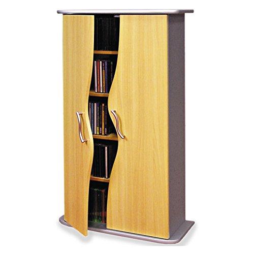 vcm 30023 cd dvd regal turm tower vitrine schrank m bel mit rollen drehbar farbwahl 98 x 31 x 35. Black Bedroom Furniture Sets. Home Design Ideas
