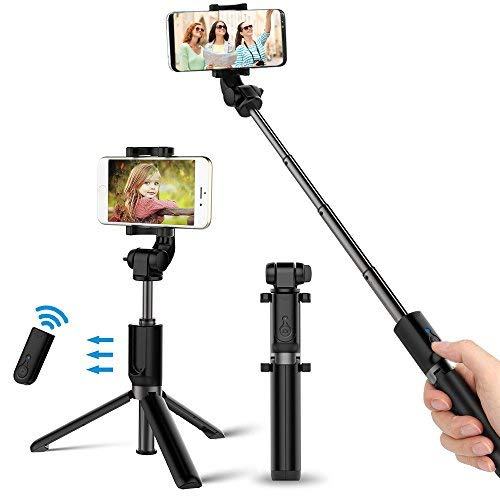 patiszon selfie stick selfie stange bluetooth selfiestick. Black Bedroom Furniture Sets. Home Design Ideas