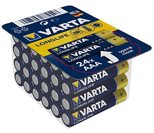 Akkus & Batterien Nemt Flachbox Mit 48 X Varta Longlife Power set 2: 48x Mignon Aa Lr06 +box Elektromaterial